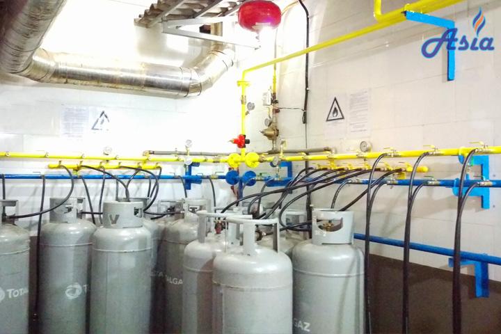 Hệ thống gas nhà hàng khách sạn chất lượng uy tín