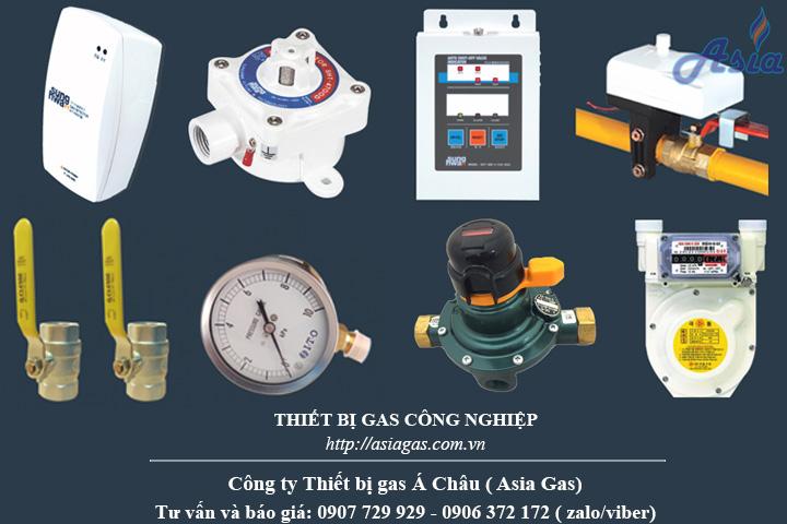Thiết bị gas hệ thống gas nhà hàng khách sạn