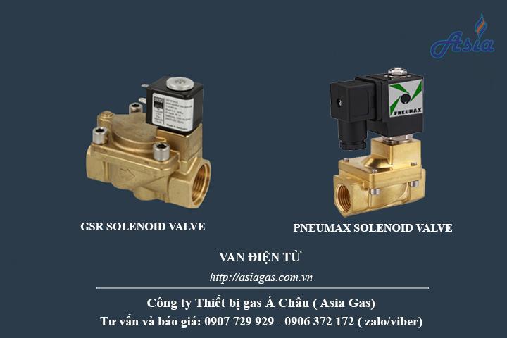 van điện từ soleniod gsr pneumax