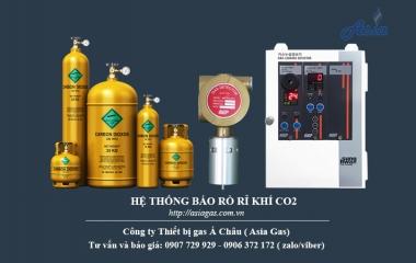 Thiết bị báo rò rỉ CO2 lắp khu cụm chaiCO2