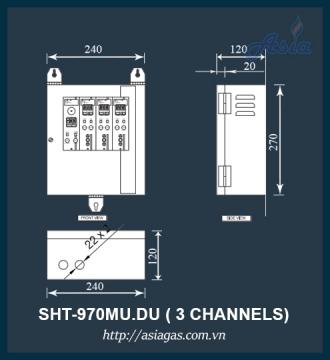 TỦ ĐIỀU KHIỂN TRUNG TÂM SHT-970MU.DU