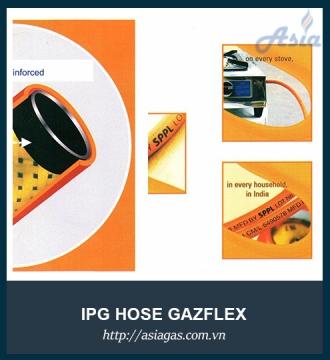 Dây gas cao áp Gazflex Ấn Độ