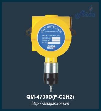 Đầu dò khí Axetylen phòng nổ QM-4700D(F-C2H2)