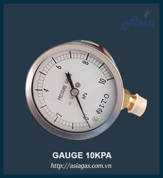 Đồng hồ đo áp suất 10kPa