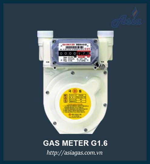 Đồng hồ đo lưu lượng gas thấp áp G1.6