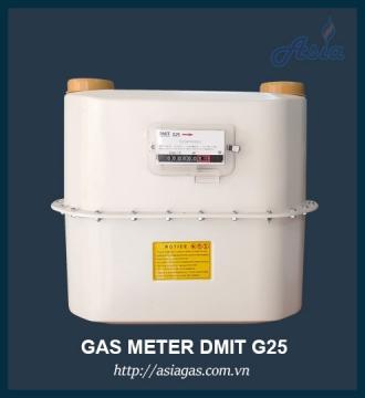 Đồng hồ lưu lượng gas G25 Dmit 40m3/h