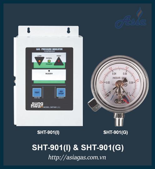 Hệ thống giám sát áp suất SHT-901(I), SHT-901(G)